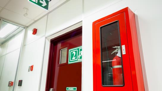 Fire Alarm And Fire Exit
