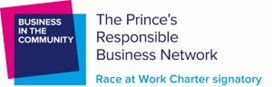 Logo: Race at Work Charter Signatory