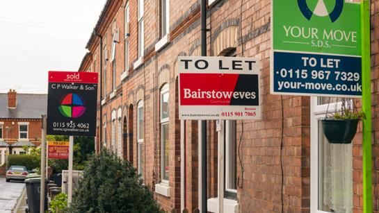 Homes For Sale On A Nottingham Street